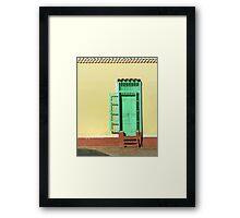 Technicolor social club  Framed Print