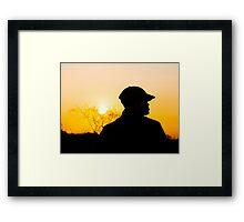 Zulu dusk Framed Print