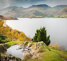 Ullswater from Long Crag 2 by Ralph Goldsmith