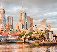 Pastel Melbourne by Ray Warren