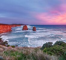 12 Apostles at Sunset by Ray Warren
