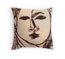 portrait of suzi wong Throw Pillow
