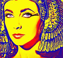 Elizabeth Taylor in Cleopatra by Art Cinema Gallery