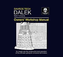 Dalek Workshop Manual Phone by gofreshfeelgood