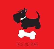 Dog and Bone – iPhone by BonniePortraits