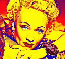 Marlene Dietrich by Art Cinema Gallery