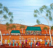 """Aussie Cricket Outback Style""  SOLD by EJCairns"
