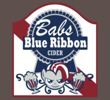 Babs Blue Ribbon Beer by Number1Robot