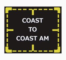 Coast to Coast AM of Interest sticker alternative by REDROCKETDINER