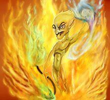 Elemental fire by faunomanchego