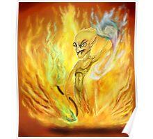 Elemental fire Poster