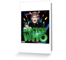 Doctor Who 50th Anniversary - Third Doctor Greeting Card
