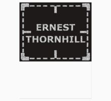 Ernest Thornhill is Alive sticker alternative by REDROCKETDINER