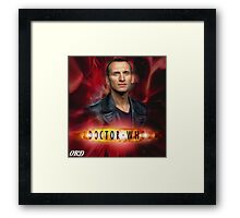 Doctor Who 50th Anniversary - Ninth Doctor Framed Print