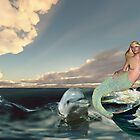 The Dolphin and the Mermaid'... by Valerie Anne Kelly