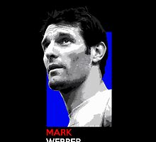 Mark Webber - national flag colors by TheGearbox