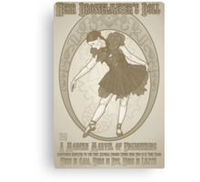 Classic Herr Drosselmeyer's Doll Canvas Print