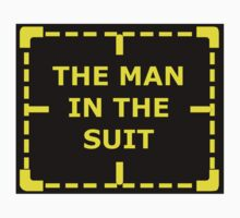 The Man in the Suit sticker alternative by REDROCKETDINER