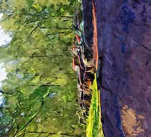 Rusty Old Cars and Trucks 4 Abstract Impressionism by pjwuebker