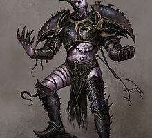 Slaanesh Champion by FailedDEATH666