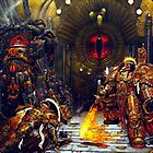 Horus and the Emperor  by FailedDEATH666