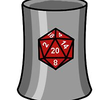The D20 Mug by Allan Gagnon