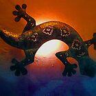 Gecko by Adrian Harvey