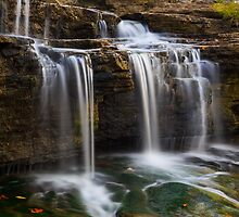 Falling Whitewater by Kenneth Keifer