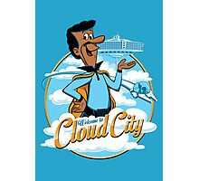 Welcome to Cloud City Photographic Print