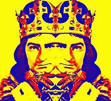 Laurence Olivier, double in Richard III by Art Cinema Gallery