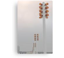 Orange Lights and Fog Canvas Print