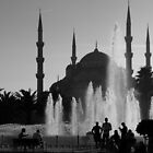 Blue Mosque by Steve Falla