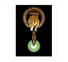 Hand of the 11th Time Lord Art Print