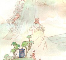Misty Mountain Tardis by dancingheron