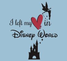 I left my Heart in Disney World by hboyce12