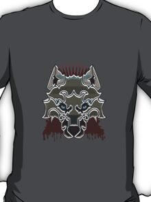Ned Stark Dire Wolf Badge T-Shirt