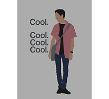 Cool... Cool. Cool. Cool. Photographic Print