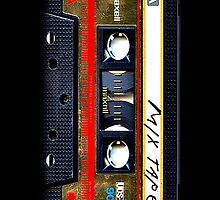 Classic Retro Maxell Gold Mix cassette Tape by Johnny Sunardi