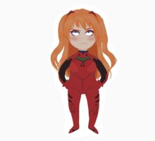 Asuka Langley Shikinami/Soryu sticker by Soffie