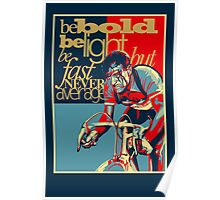 Retro Cycling Print Poster Hard as Nails  Poster