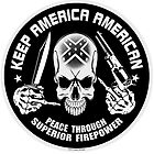 KEEP AMERICA AMERICAN Rebel by Zesko