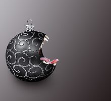 Scary Bauble by Kitty Bitty