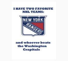 I have two favorite NHL teams by BarbForce