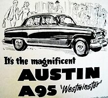 Austin a95 by kaleidoscopecreation