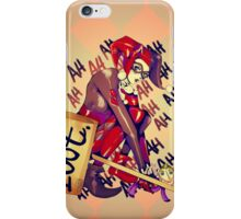 Harley Quinn (2) iPhone Case/Skin
