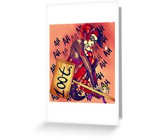 Harley Quinn (2) Greeting Card