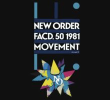 New Order Movement Shirt (DARK) by Shaina Karasik