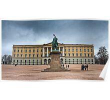 Royal Palace Oslo, Norway Poster