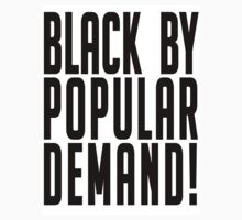 Black by popular demand by lucylewinski