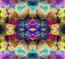 Abstract Symmetrical Coloration by Phil Perkins